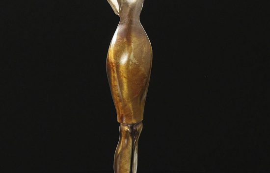 fine art services bronze scuplture reaching pankratz