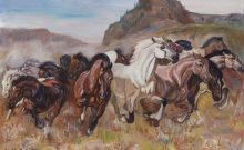 The-Stampede-Fine-Art-Reproduction-Services