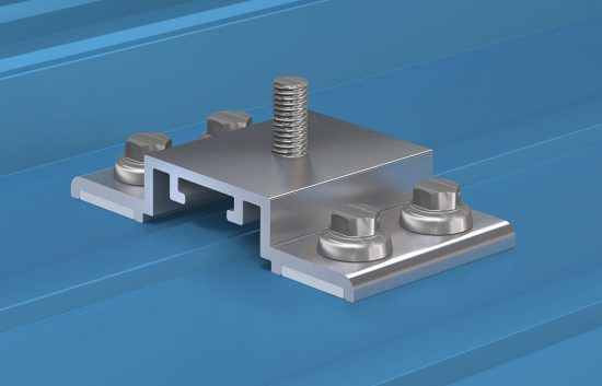 CGI metal roof mounting fixture