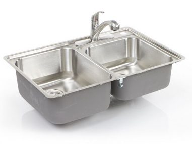 360-degree-spin-product-photography-stainless-steel-sink-with-faucet